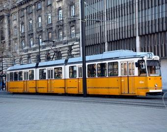 Budapest Tram | Photographic Print | Photography | Landscape | Colour | Travel | Decor | Home | Wall Art