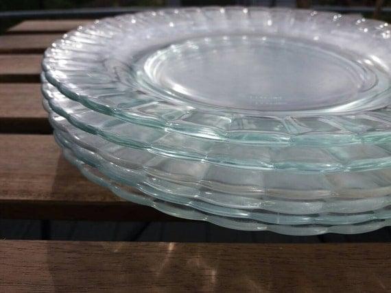 Duralex France Glass Plates
