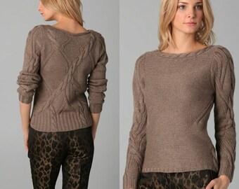Dames à la main tricot chandail / custom