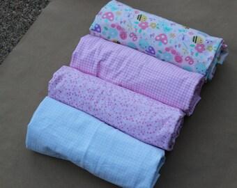 Baby Blanket in Spring Print