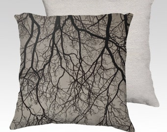 """Shadow Tree Photographic Pillow (18"""" x 18"""" and 22"""" x 22"""")"""