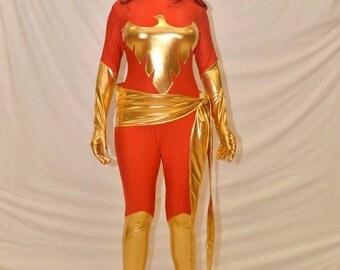 Xmen Dark Phoenix Spandex/Lycra Costume