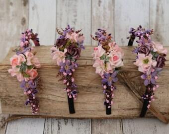 Headband - Rose garden
