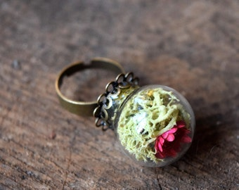 Lily Pad Terrarium Ring