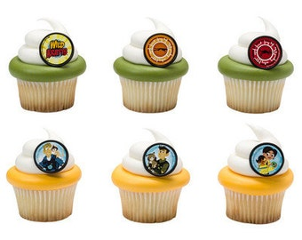 WILD KRATTS Cupcake Rings