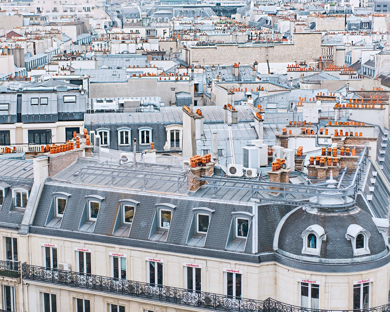 paris rooftops photo rooftops paris print paris photography. Black Bedroom Furniture Sets. Home Design Ideas