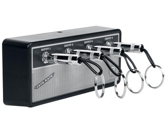 "The ""Vintage"" Jack Rack- Wall mountable guitar amp key rack"