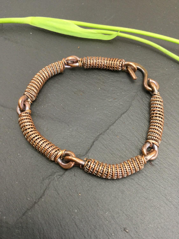 mens copper bracelet unisex cuff men copper jewelry. Black Bedroom Furniture Sets. Home Design Ideas