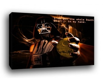 Star Wars Darth Vader Canvas Art Print A1 A2 A3 A4