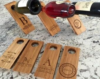 Personalized Wine Bottle Balancers