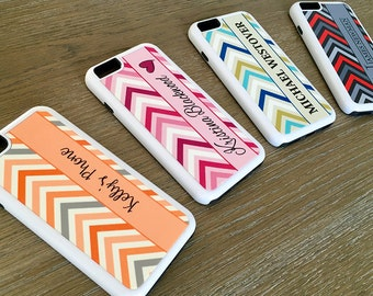 Personalized iPhone 6 Cases -Chevron Pattern