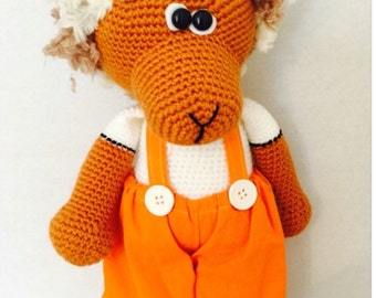 Knitted Bear Doll