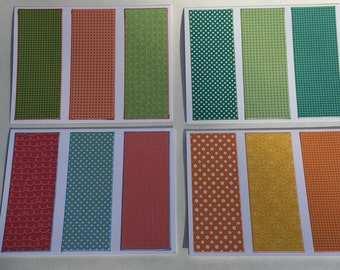Sets of 4 Note Cards