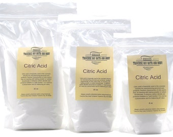 Citric Acid , ,soap making supplies, creams, lotions, balms.   16oz-64oz