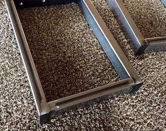 Steel Table Legs. Metal Bench Legs. Steel Leg Set. Metal