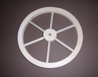 "Wooden 10""  handcrafted wheel, Part No 1401-D"