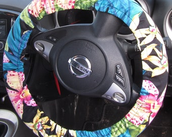 Me-Mo Steering Wheel Cover in Black Orchid