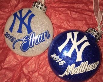 Custom Yankees Ornament