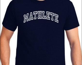 Mathlete T-Shirt Math Club Academic Geek Nerd Shirt Men's / Unisex / Women's / Ladies / Youth / Kids Tshirt