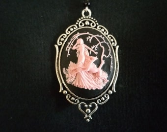 Wood Nymph Cameo Necklace