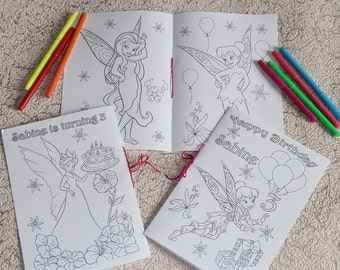 Tinkerbell coloring activity book, PDF file