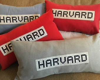 Harvard pillow