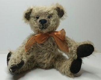 Handmade German mohair teddy bear