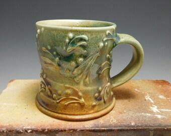 Ceramic Mug/Cup, Stoneware, Porcelain, Wheel Thrown, High Fire, Coffee, Tea Cup