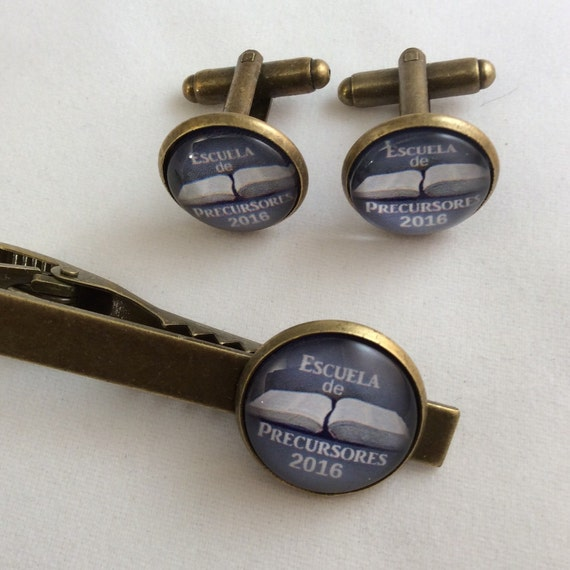 Pioneer School Class of 2016 Tiebar and Cufflinks Set