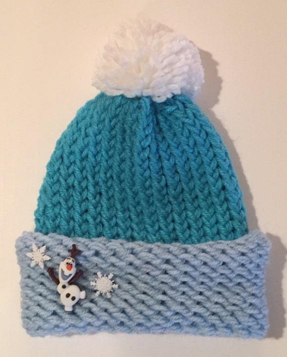 Knitting Pattern Olaf Hat : Elsa Hat Frozen Hat Olaf Hat Princess Elsa by JilleBeansCreations