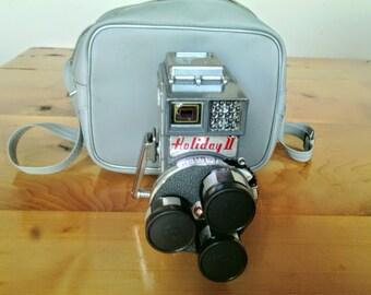 Vintage Mansfield Holiday ll Three Lens Movie Camera