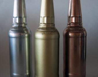 Metallic Vase Set
