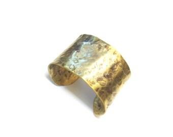 Brass - IV ethnic Cuff Bracelet