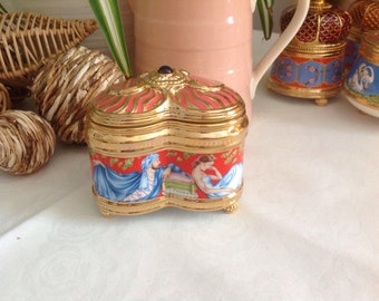 Franklin Mint House of Faberge .Imperial Music Box Collection. Russian Ballets. Raymonda