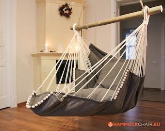 Hammock chair (gray/gray)