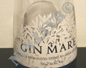 Vase crafted empty bottle furniture Gin Sea Recycling creative Reuse