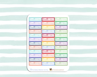 Small Group | Planner Stickers