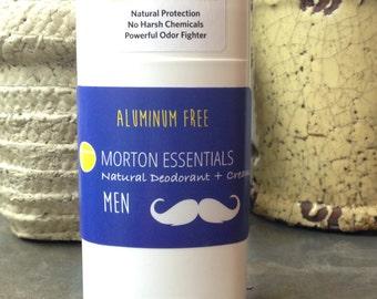 Natural Deodorant- Men's