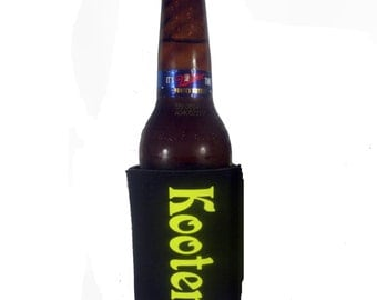 Regular sized can coolies personalized with your name
