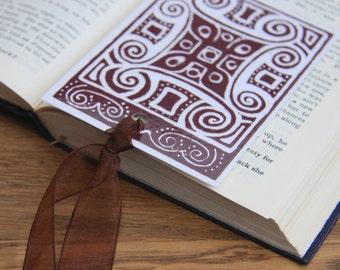 Celtic Diamond - small bookmark