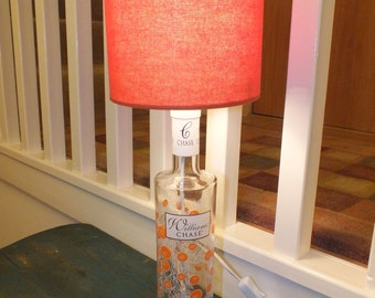 Williams Chase Seville Orange Gin upcycled Table Lamp