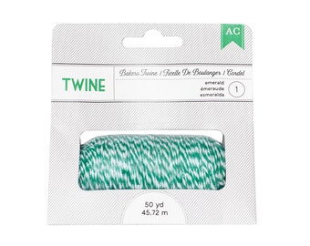 American Crafts 366509 Bakers Twine - Emerald