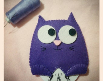 Kitty felt and felt discorario. Nice gift idea.  Christmas gift. Little thought customizable