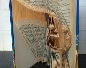 Pour a Glass of Wine Book Folding Pattern