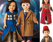 Simplicity Pattern 8111 Costumes for 18 inch Dolls