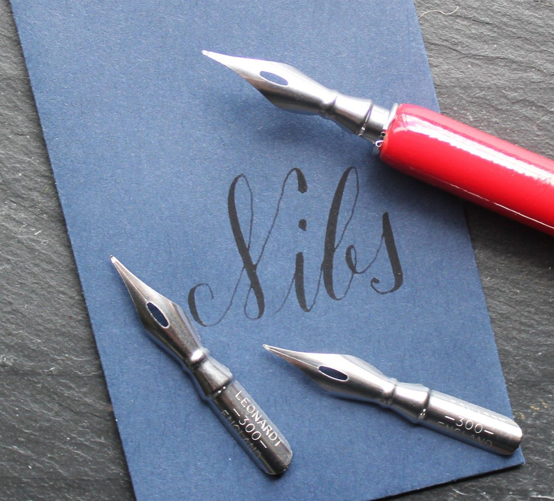 Ball Point Calligraphy Nib Set Of 2 Calligraphy Kit