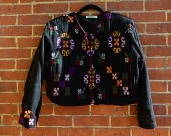 Pan-Thai Cross Stitched Jacket