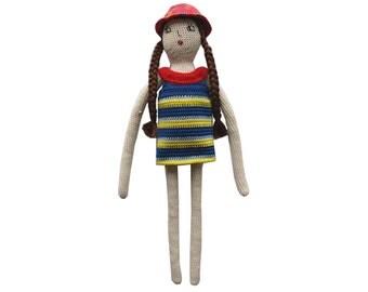 """Crochet doll pattern """"Emma"""""""