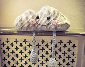 Chester the crochet rain cloud
