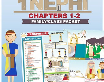 Book of Mormon Lessons: 1 Nephi 1-2